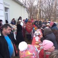 Частування на святі Масляної у селі Недогарки, 2018 рік