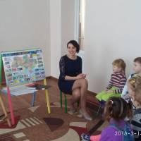 Навчальні вправи у старшій групі ДНЗ