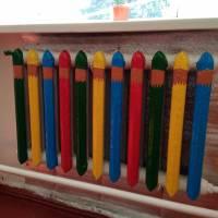 Веселі олівці - грітимуть добре