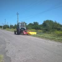 У Максимівському комунальному господарстві після довгої перерви відновили роботу трактора (червень 2019 року)