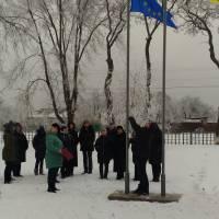 Підняття державного прапора України у Недогарківській громаді