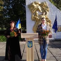 мітинг до дня визволення с. Максимівка
