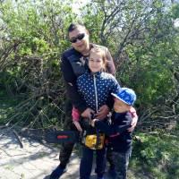 Активіст громади - Шолошенко Руслан Олександрович з сім'єю