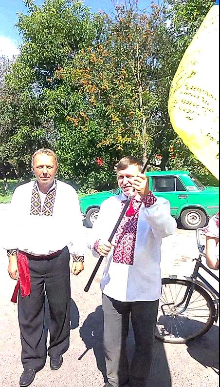 Оржиця, День Прапора, Велопробіг, Воронинці, Новооржицьке