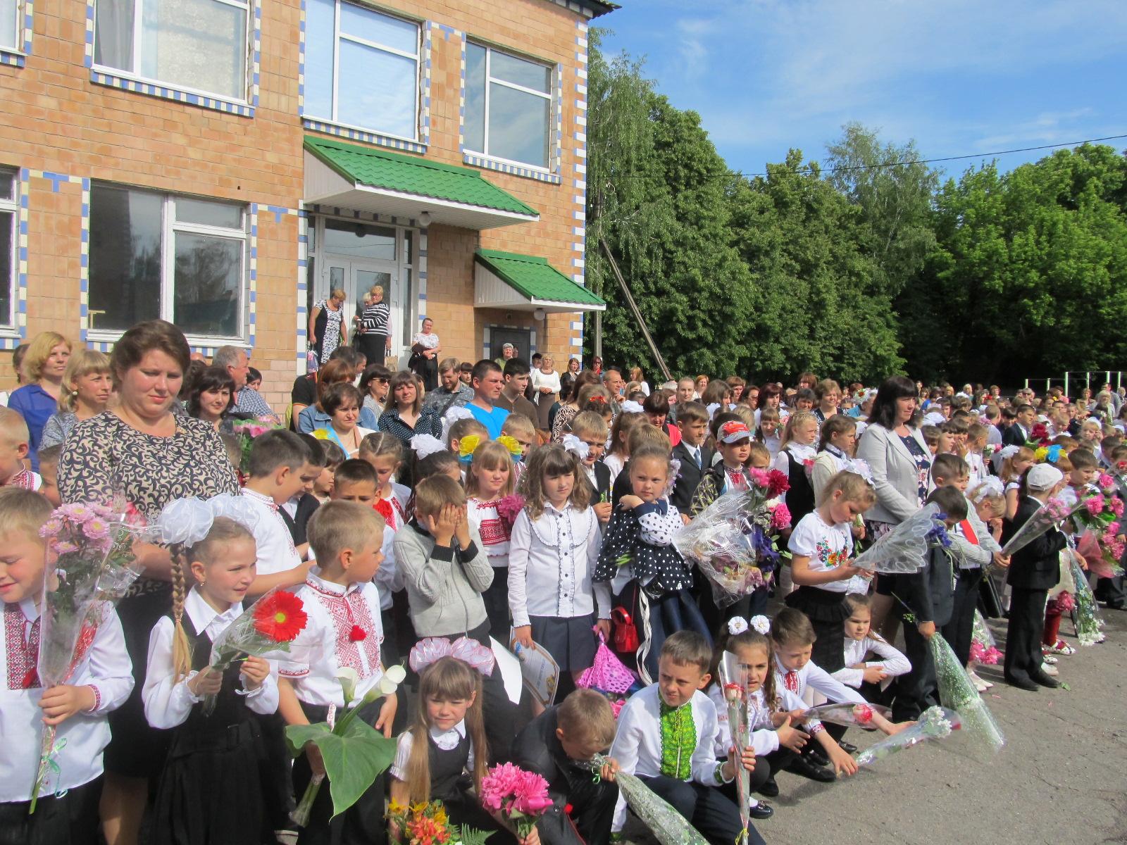 Оржиця, районна рада, школа, останній дзвінок