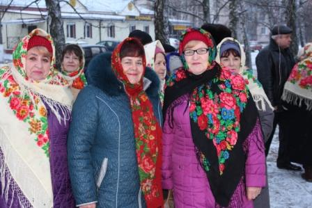Оржиця, Новий ріе, свято, Миколай, селище