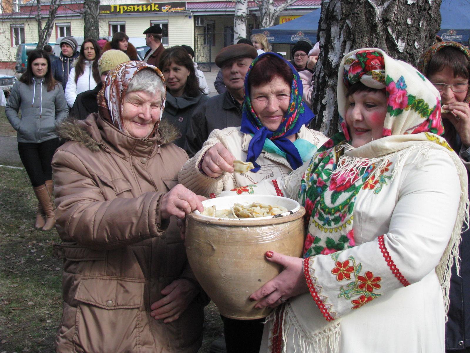 Оржиця, райрада, Масляна, свято