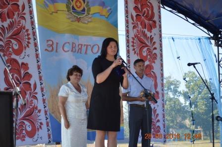Оржиця, Вишневе, День села, свято