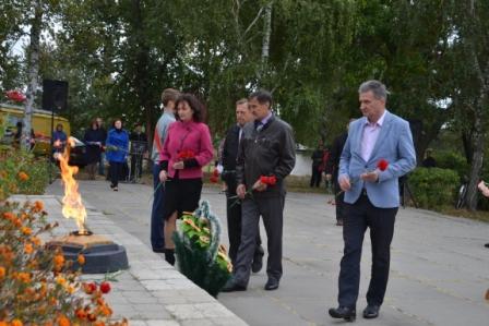 Оржиця,Полтавщина,день визволення, мітинг