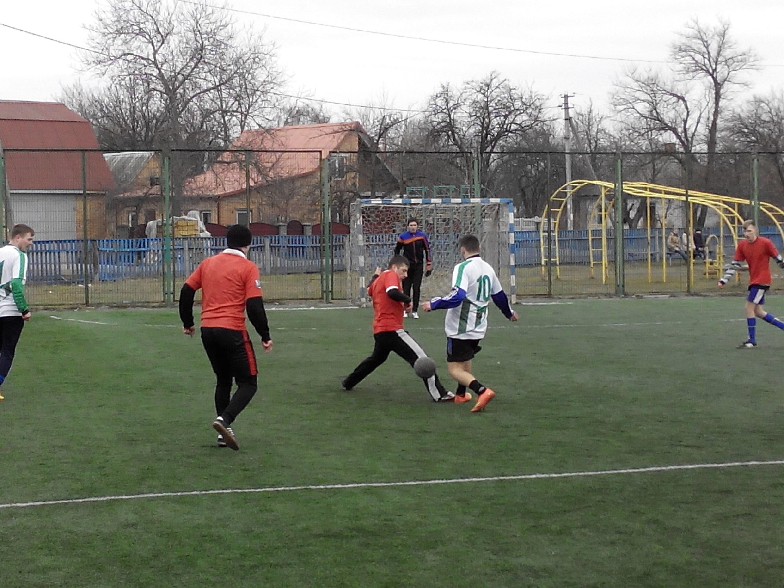 Оржиця, райрада, міні-футбол,першість