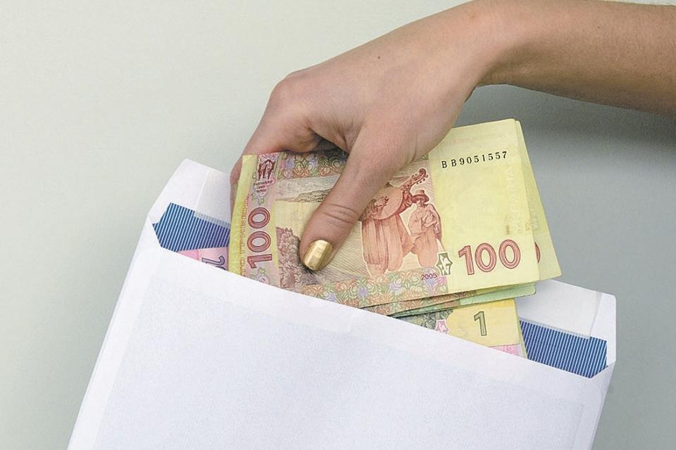 Оржиця, районна рада,зарплата,конверти