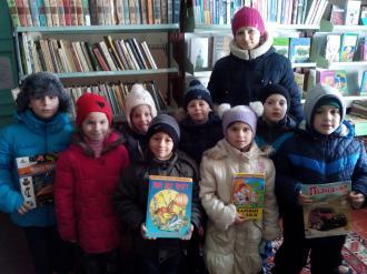 Оржиця, Плехів,бібліотека, Миколай, діти, читачі,школа