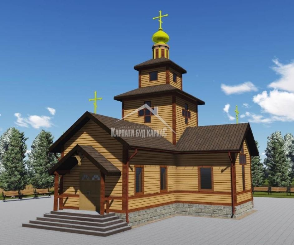 Малюнок церкви