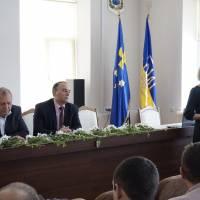 Слова вдячності та вітань від першого заступника голови райдержадміністрації Інни Авраменко
