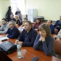 Посадові особи - учасники робочої зустрічі