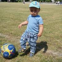 маленький вболівальник