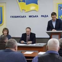 Про план соціально-економічного розвитку громади на 2019 рік доповідає заступник міського голови Олександр Артюшенко