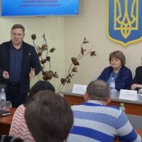 На питання гостей відповідає староста Станіслав Живолуп