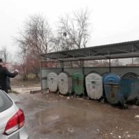 площадка для сміттєвих баків