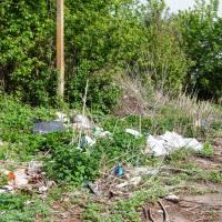 Стихійне сміттєзвалище по вул.Тімірязєва