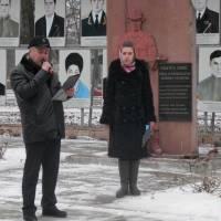 Керівник районної організації афганців Володимир Мигаль