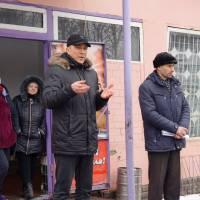 Заступник міського голови Олександр Артюшенко проводить зустріч із жителями села Землянки