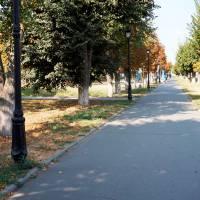 м.Глобине - вул.Центральна ( біля будівлі районного центру зайнятості)