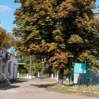 м.Глобине - вул.Промислова  (біля будівлі будинку культури ім.Франка)