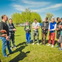 Міський голова з гравцями молодіжного складу ФК «Глобине»