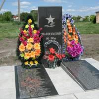 Пам'ятник воїнам-малокринківцям загинувшим в роки Другої світової війни, с. Великі Кринки