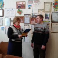 Нагородження депутата сільської ради Дяченко М.О.