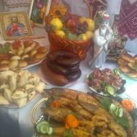 червоненська сільська рада пригощала на святкуванні  Дня району.