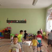 Мала спортивна зала для дошкільнят