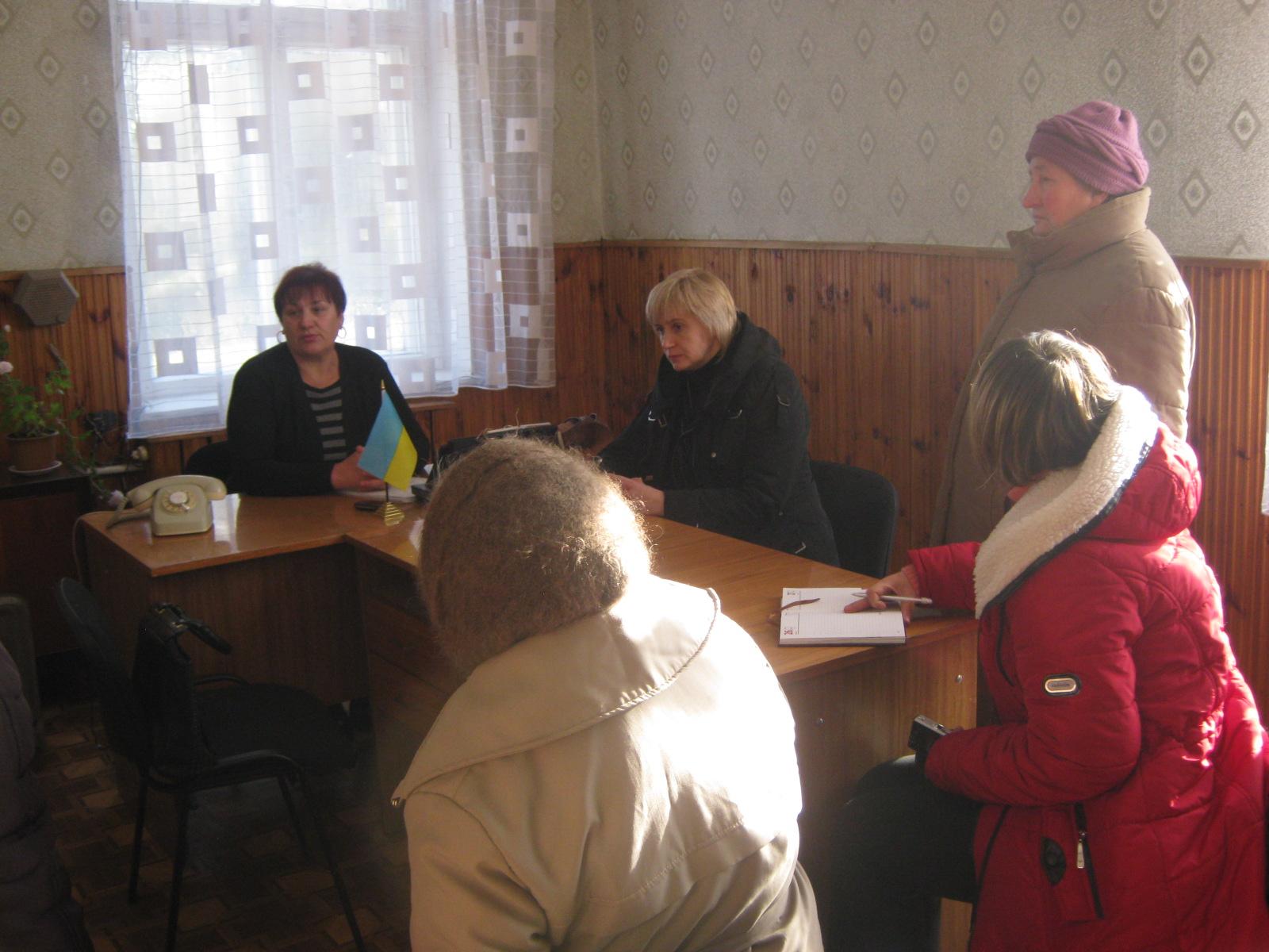 Слова вдячності на особистому прийомі в с. Марчихина Буда були адресовані керівництву Ямпільського району та депутатам