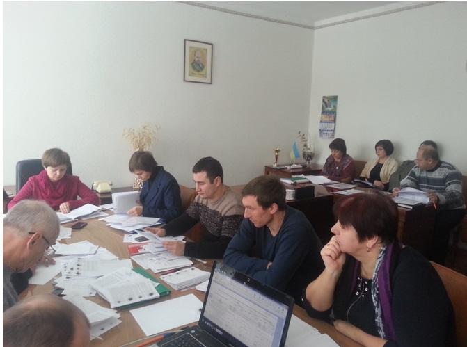 На Ямпільщині відбулося засідання постійної комісії з питань бюджету, фінансів, планування, ринкових реформ і управління комунальною власністю