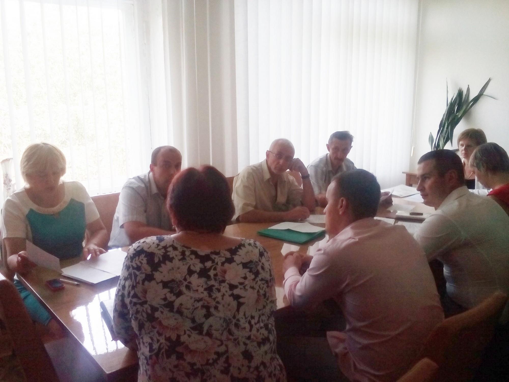 Відбулося засідання постійної комісії Ямпільської районної ради