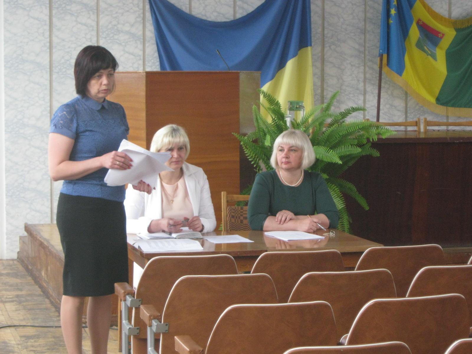 Навчалися очільники та секретарі місцевих рад