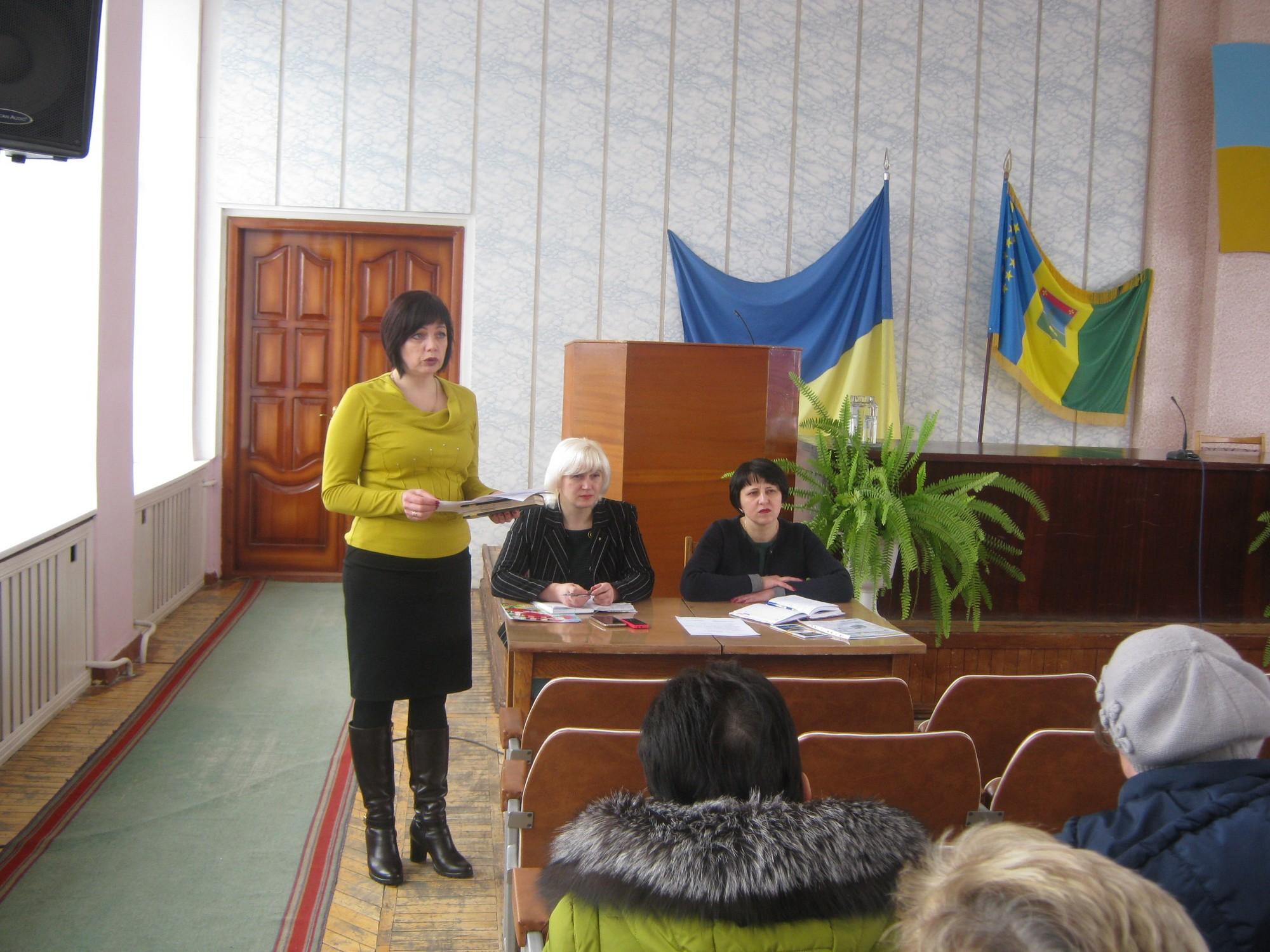Семінар очільників та секретарів місцевих рад Ямпільщини