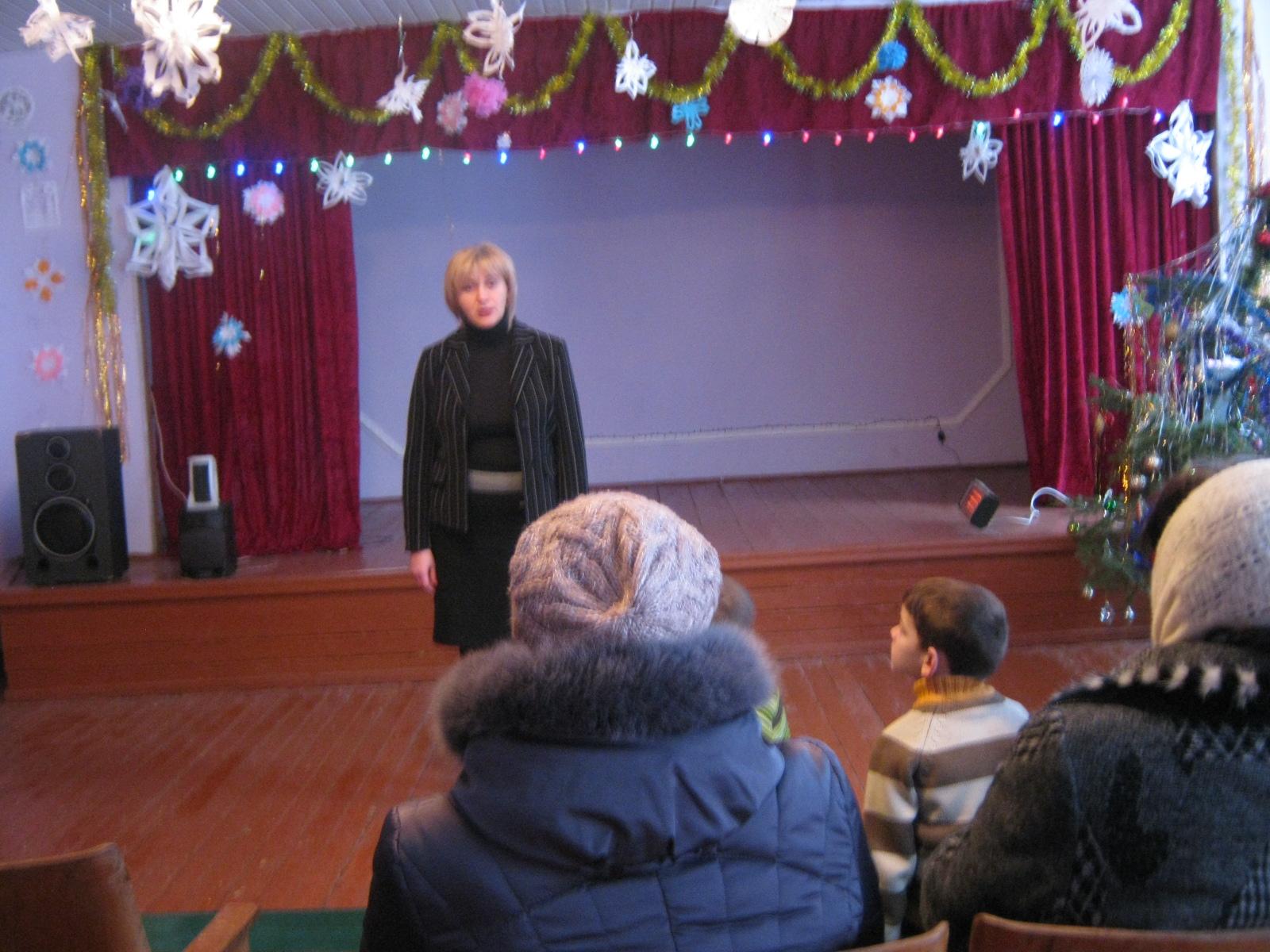 Голова Ямпільської районної ради звітувала перед виборцями