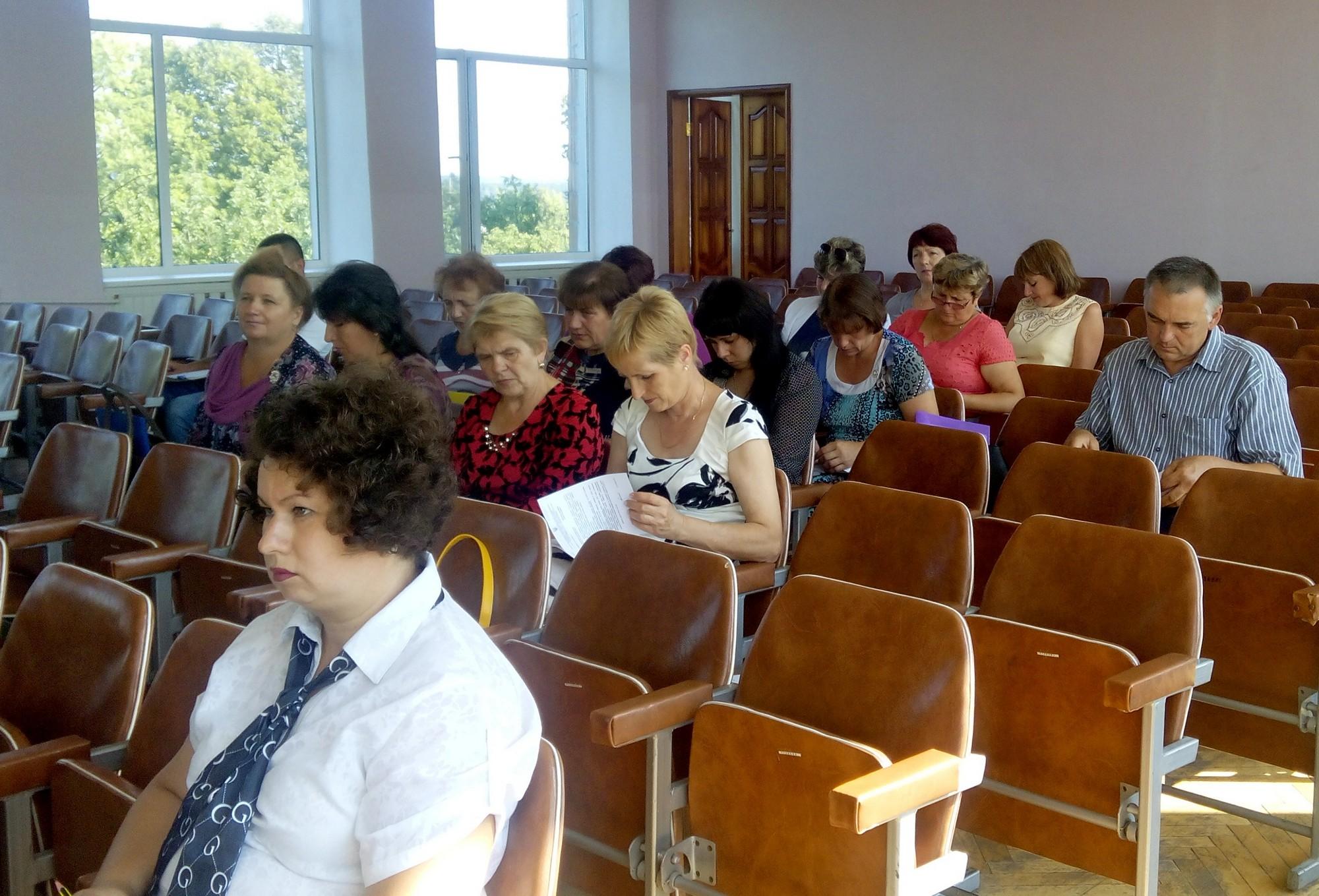 Навчалися очільники та секретарі місцевих рад Ямпільщини