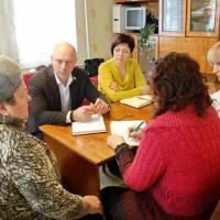 Зустріч з мешканцями району у форматі виїзної приймальні (25.02.2016)
