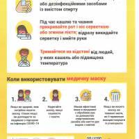 Памятка Як знизити ризик інфікування коронавірусом (1)