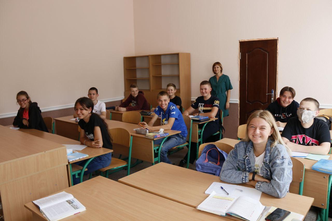 Новий навчальний рік в Попівській філії