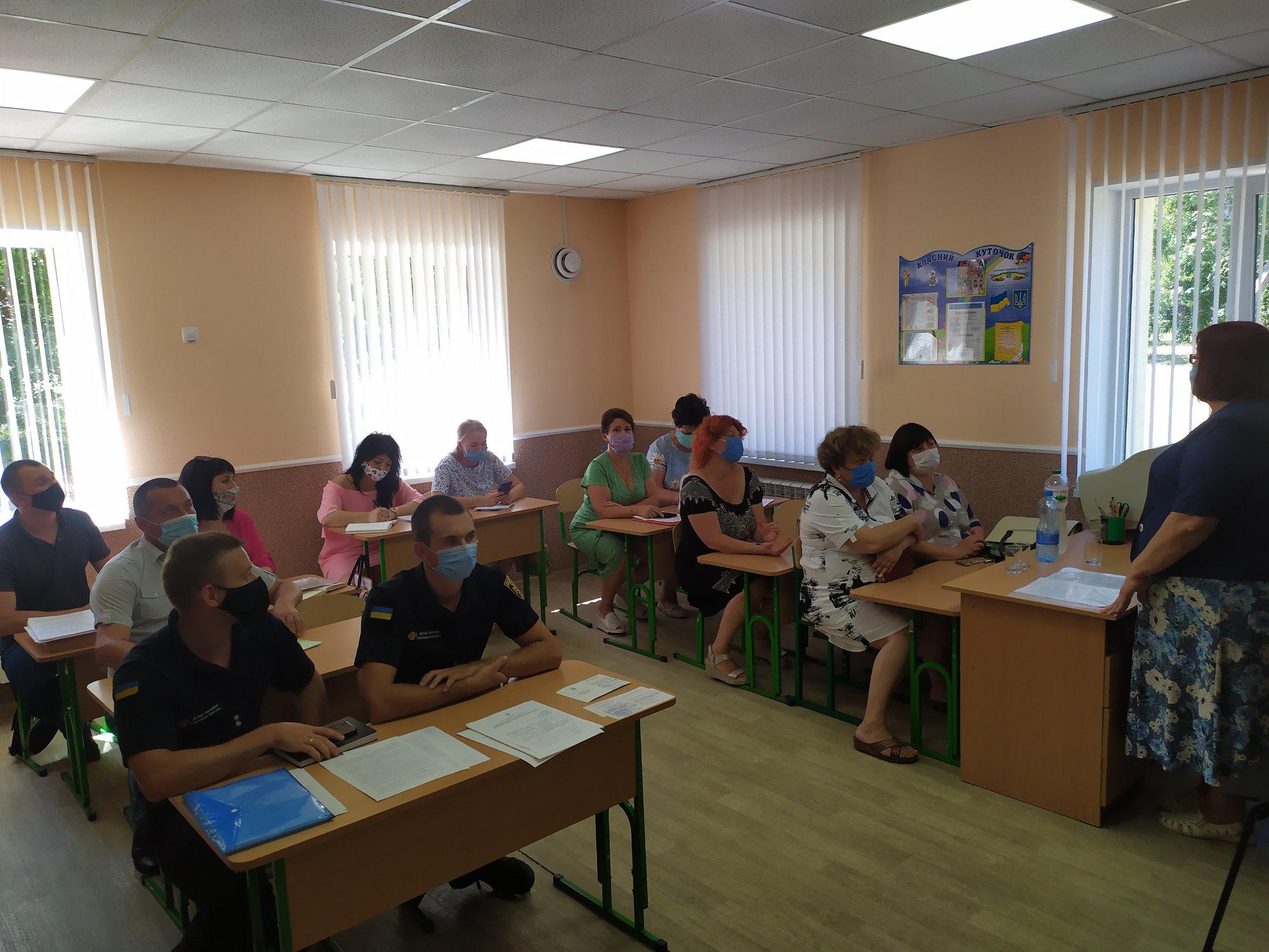 Огляд готовності закладів освіти Наталинської сільської ради до 2020/2021 навчального року