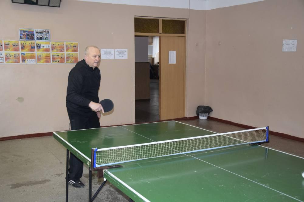 Віктор Кісельов — кращій у настільному тенісі