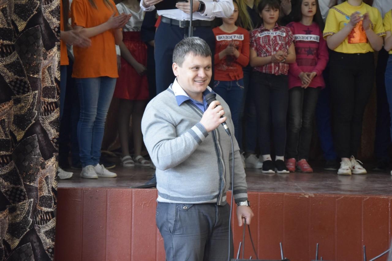 В.о. директора Розсошенської гімназії Євген Яловець