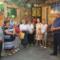 Відкриття офісу районного товариства греків