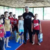 Чемпионы Украины по каратэ WKS -2019 - Пискаревский Алексей и Белич Вероника