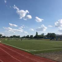 «Великоновосілківський районний стадіон «Колос» Тренування в молодшій групі.