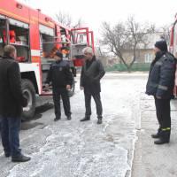 Нова пожежна машина для Великоновосілківського РВ ДСНС1